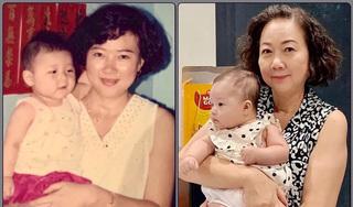 Ngỡ ngàng nhan sắc mẹ Trấn Thành sau 30 năm trong ảnh ngày ấy - bây giờ