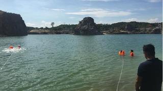 Đi tắm mát, một nam sinh đuối nước ở hồ Lèn Chùa