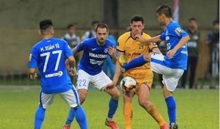 HLV Phan Thanh Hùng thừa nhận Quảng Ninh may mắn thắng Nam Định