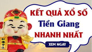 XSTG 31/5 - Kết quả xổ số Tiền Giang hôm nay chủ nhật ngày 31/5/2020