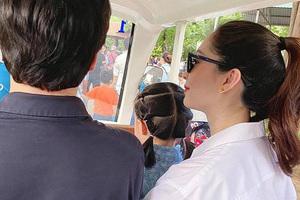 Hoa hậu Đặng Thu Thảo lần đầu xuất hiện sau khi sinh quý tử