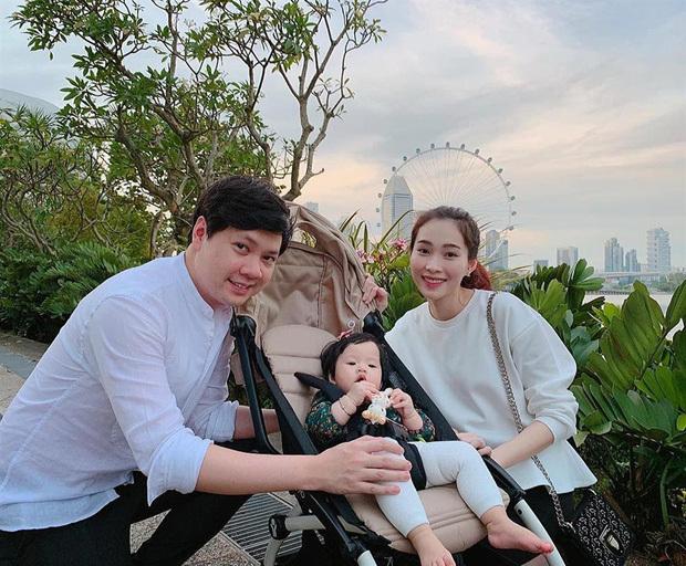 Hoa hậu Đặng Thu Thảo lần đầu xuất hiện sau sinh quý tử thứ 2