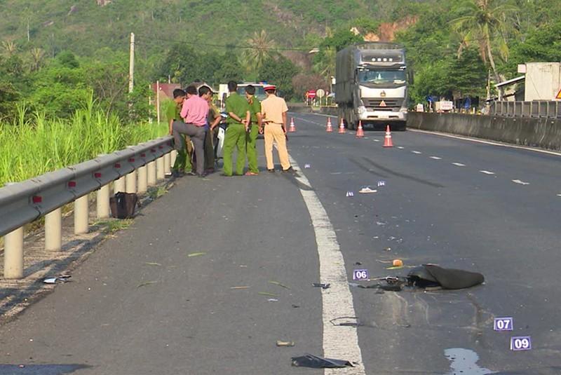 Xe tải đâm chết người ở Phú Yên chạy về Hà Nội trốn