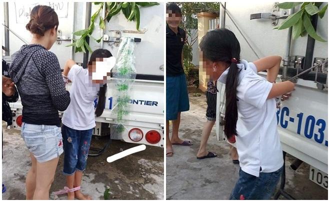 Người mẹ trói con gái vào xe tải trần tình khi nhận bão chỉ trích
