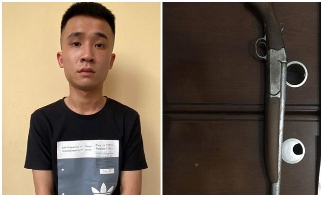 Khởi tố thanh niên Quảng Ninh táo tợn nổ súng giải quyết mâu thuẫn