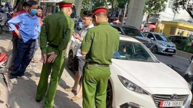 Tạm giam 3 tháng tài xế Mazda hất chiến sĩ công an lên nắp capô