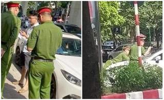 Tạm giam tài xế xe Mazda hất chiến sĩ công an lên nắp capô