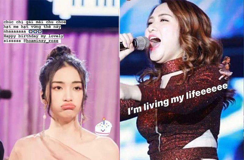 Gia đình 'Hoa dâm bụt' tụ họp mừng sinh nhật Hoà Minzy, nhưng sự chú ý lại đổ đồ vào nhân vật này