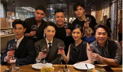 Gia đình 'Hoa dâm bụt' cùng nhân vật 'đặc biệt' mừng sinh nhật Hòa Minzy