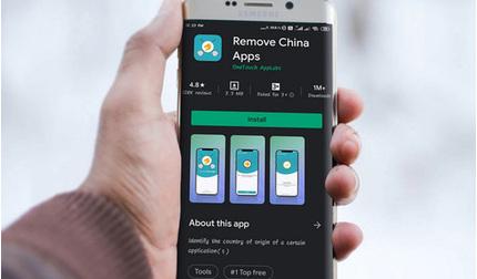 Ứng dụng 'xóa app Trung Quốc' gây sốt với 1 triệu lượt tải chỉ sau 10 ngày