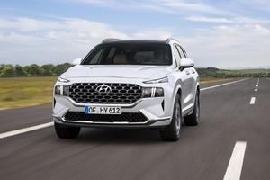 Hyundai Santa Fe 2021 thay đổi ấn tượng, lột xác từ trong ra ngoài