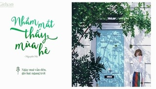 Lời bài hát 'Nhắm mắt thấy mùa hè' (Lyrics) - Nguyên Hà