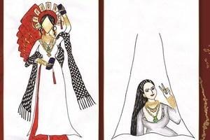 Dịch Covid-19 được đưa vào trang phục dân tộc cho Khánh Vân ở Miss Universe