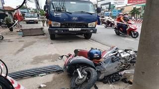 Tin tức tai nạn giao thông ngày 4/6: Xe tải mất lái tông chết người ở cột chờ đèn đỏ
