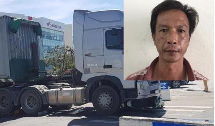 Bắt giam tài xế container va chạm với xe máy khiến bé 6 tuổi tử vong