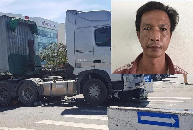 Bắt giam tài xế container va chạm với xe máy khiến hai mẹ con thương vong