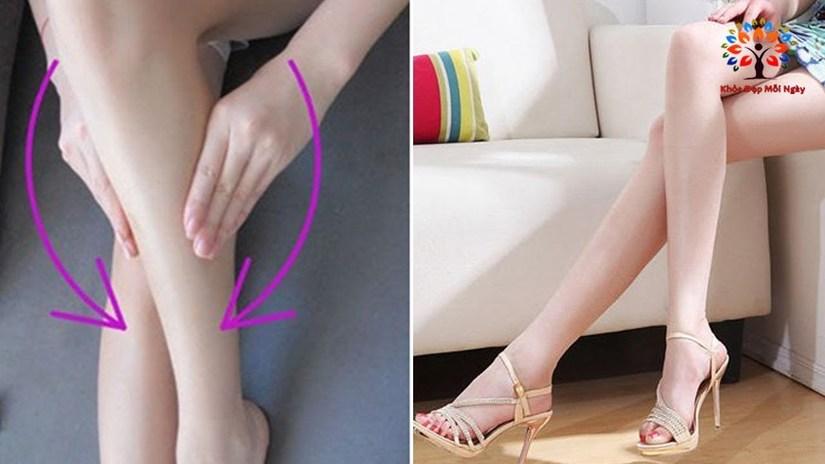 Tuyệt chiêu làm nhỏ bắp chân siêu nhanh, siêu hiệu quả tại gia