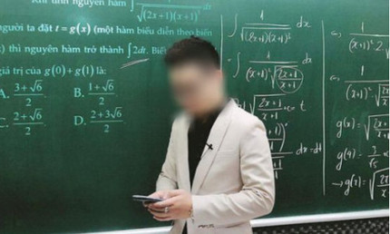 Thầy giáo Toán giúp học sinh gian lận viết tâm thư xin lỗi và nhận trách nhiệm