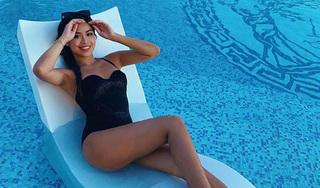 Tiên Nguyễn 'đốt mắt' người nhìn với thân hình nóng bỏng