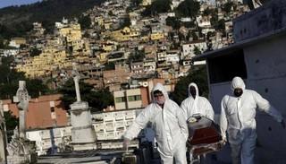 Tin tức thế giới 5/6: Brazil ghi nhận kỷ lục mới về số ca tử vong do Covid-19