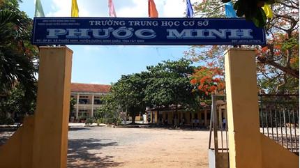 Tỉnh Tây Ninh chỉ đạo khẩn vụ thầy giáo bị tố dâm ô 4 nam sinh