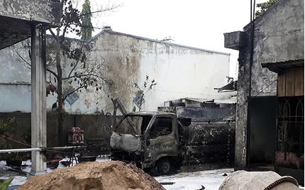 Xe bồn phát nổ tại cây xăng, tài xế tử vong trong đám cháy kinh hoàng