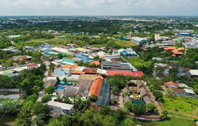 Toàn cảnh công trình Resort Gia Trang Quán – Tràm Chim