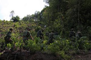 Huy động flycam truy tìm phạm nhân vượt ngục trốn ở rừng Hải Vân