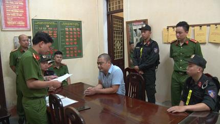 Khen thưởng thành tích phá án vụ 'bảo kê' hỏa táng ở Nam Định