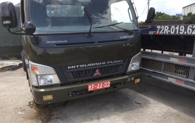 Xe container tông xe quân sự khiến 7 chiến sĩ thương vong 4