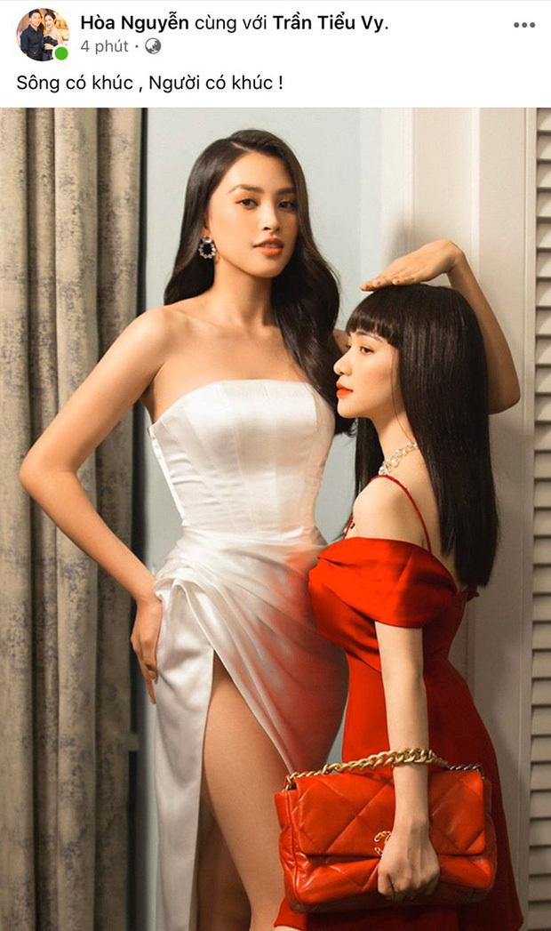 Hòa Minzy bỏ guốc, bất chấp đọ chiều cao với Hoàng Thùy