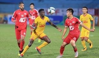 Bảng xếp hạng V.League 2020: HAGL và Nam Định rơi tự do
