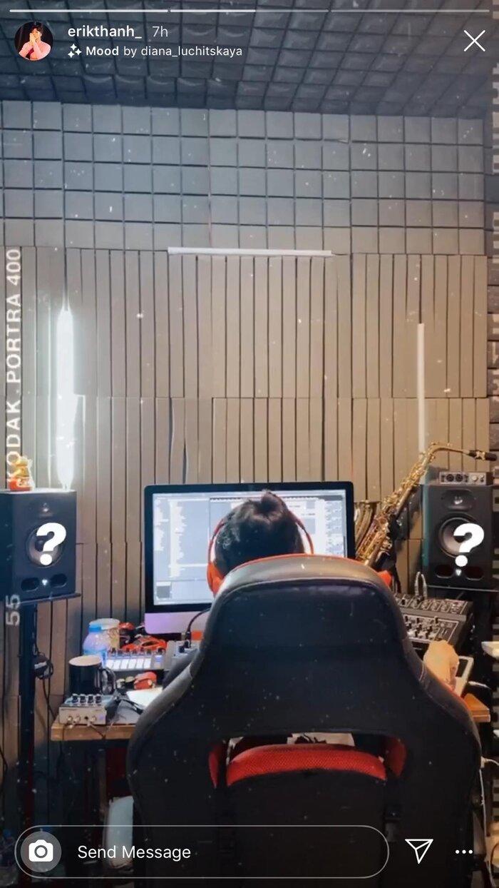 Nghi vấn Erik hợp tác cùng K-ICM trong sản phẩm âm nhạc sắp tới