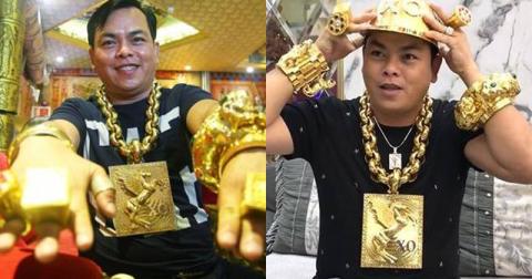 Phúc XO đeo 20kg vàng giả cùng 7 đồng phạm sắp hầu tòa