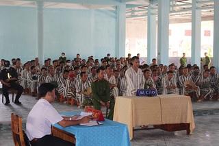 Xét xử lưu động phạm nhân trốn trại ngay tại trại giam Đồng Sơn