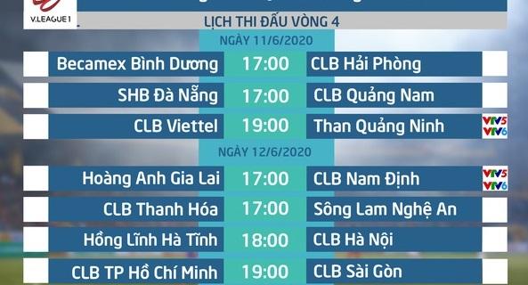 Vòng 4 V.League
