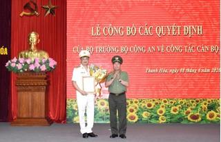 Đại tá Trần Phú Hà là tân Giám đốc Công an tỉnh Thanh Hóa