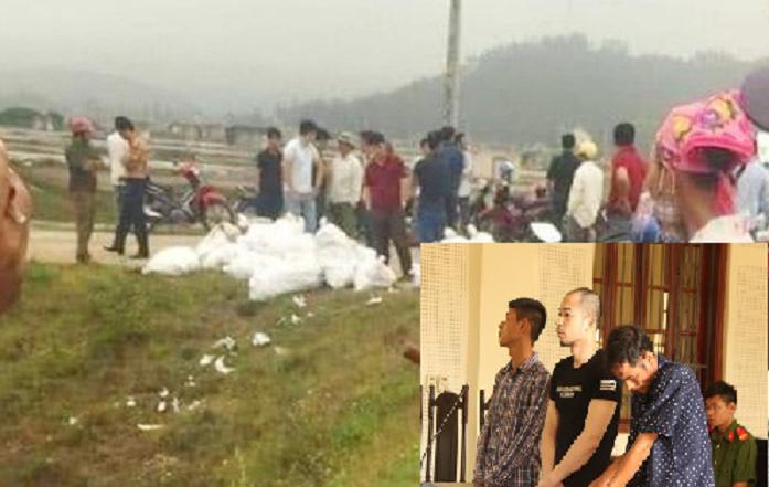 Vụ 500kg ma túy trên cánh đồng muối: 3 bị cáo lĩnh án