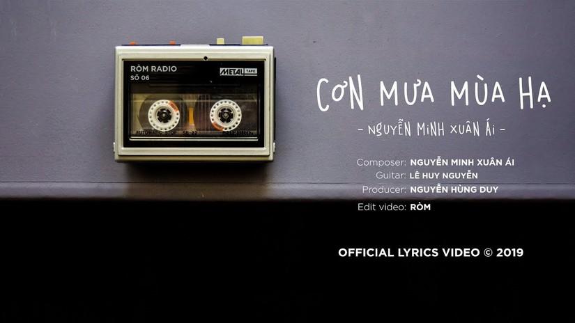 Lời bài hát Cơn mưa mùa hạ của Nguyễn Minh Xuân Ái