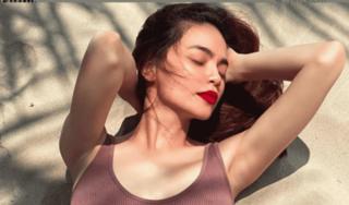 Giữa tin đồn mang bầu, Hà Hồ tung ảnh diện bikini nóng bỏng