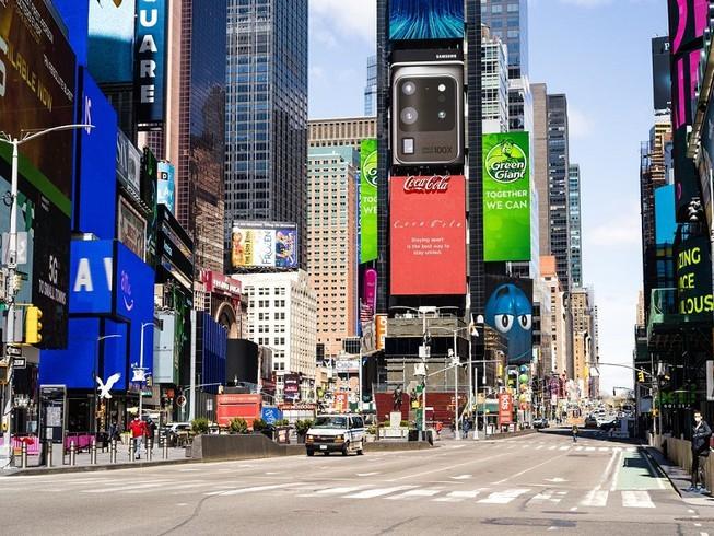 Người dân New York đã trở lại làm việc bình thường