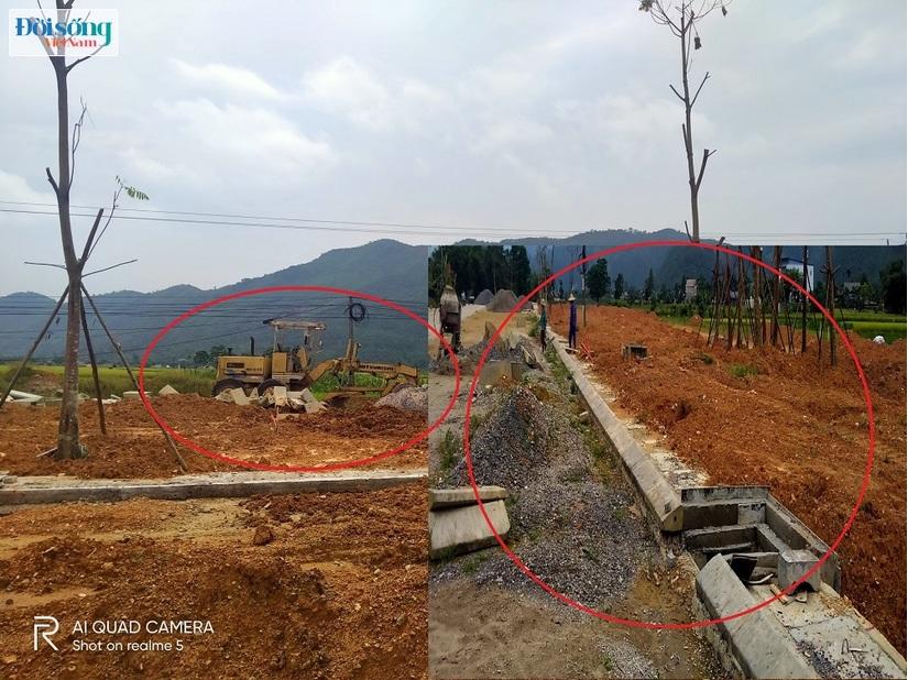 sai phạm Dự án điểm dân cư nông thôn xã Ký Phú (Thái Nguyên)03