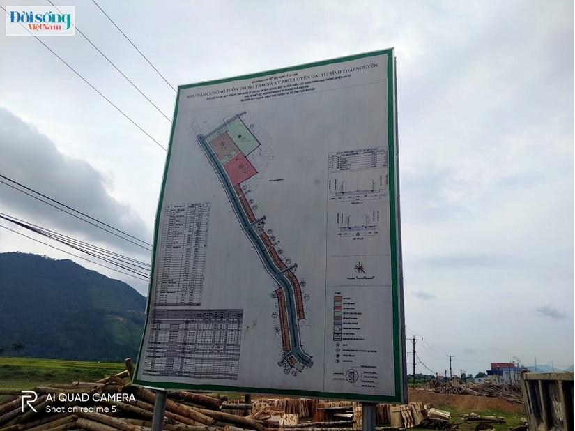 sai phạm Dự án điểm dân cư nông thôn xã Ký Phú (Thái Nguyên)