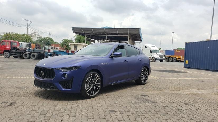 Cận cảnh Maserati Levante Launch Edition giá hơn 14 tỷ về Việt Nam