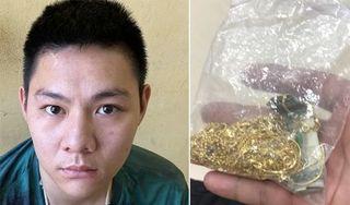 Bắt giữ đối tượng táo tợn cướp tiệm vàng ở Thanh Hóa