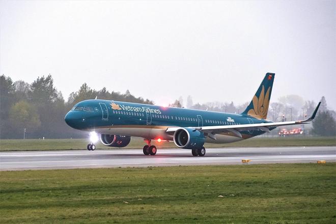 Vietnam Airlines dự kiến sẽ mở lại đường bay quốc tế từ 1/7