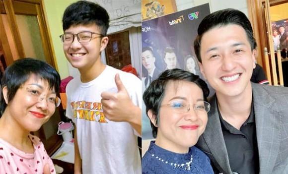 MC Thảo Vân bất ngờ vì con trai trai có nhiều nét giống diễn viên Huỳnh Anh