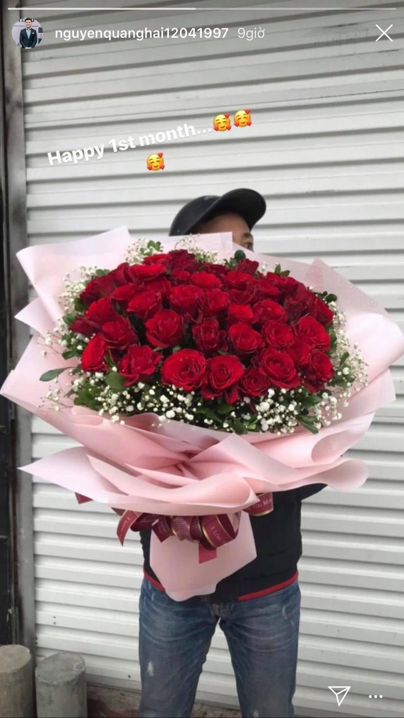 Đưa Huỳnh Anh về nhà chơi, Quang Hải không tiếc lời khen bạn gái khéo dỗ trẻ con
