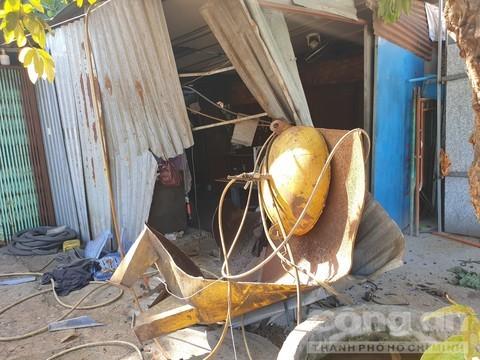 Bình khí nén phát nổ, chủ tiệm sửa ô tô đứt lìa tay tử vong