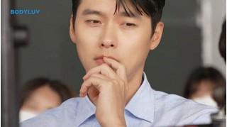Bấn loạn với clip hậu trường siêu đẹp trai của Hyun Bin